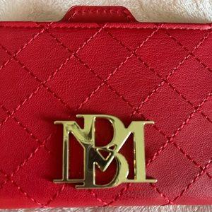 Red slim BM wallet